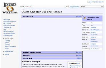 http://lotro-wiki.com/index.php/Quest:Chapter_30:_The_Rescue
