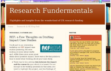 http://fundermental.blogspot.com/2011/10/ref-few-thoughts-on-drafting-impact.html