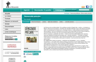 http://www.editionsladecouverte.fr/catalogue/index-Democratie_precaire-9782707171368.html