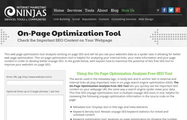 http://www.internetmarketingninjas.com/seo-tools/free-optimization/
