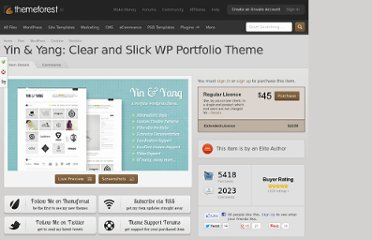 http://themeforest.net/item/yin-yang-clear-and-slick-wp-portfolio-theme/634395