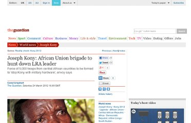 http://www.guardian.co.uk/world/2012/mar/24/joseph-kony-african-union-brigade