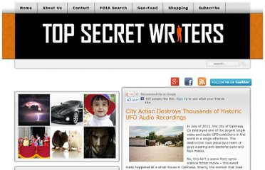 http://www.topsecretwriters.com/2012/03/city-action-destroys-thousands-of-historic-ufo-audio-recordings/