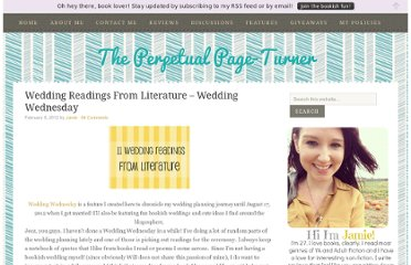 http://www.perpetualpageturner.com/2012/02/wedding-readings-from-literature.html