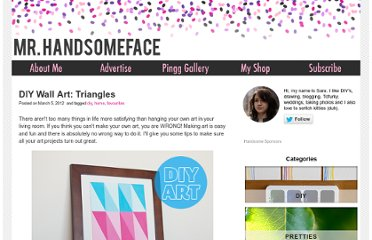 http://blog.mrhandsomeface.com/diy-wall-art-triangles