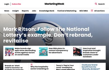 http://www.marketingweek.co.uk/customer-engagement-improves-brand-profits/3013318.article