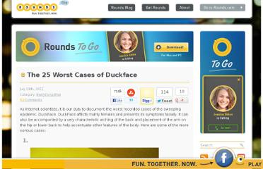 http://www.rounds.com/blog/25-worst-cases-duckface/