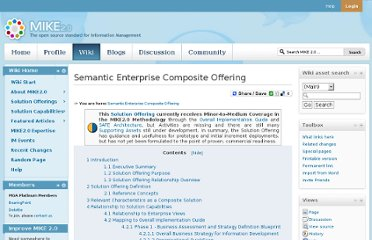 http://mike2.openmethodology.org/wiki/Semantic_Enterprise_Composite_Offering#Implementation_Frameworks