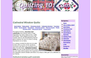 http://www.quilting101.com/styles/cathedral-window-quilts.html