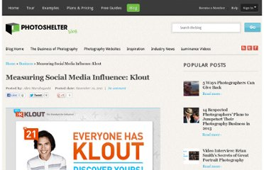 http://blog.photoshelter.com/2011/11/measuring-social-media-influence-klout/