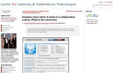 http://c4lpt.co.uk/2012/03/dropbox-cheat-sheet/