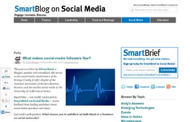 http://smartblogs.com/social-media/2010/12/15/what-makes-social-media-followers-flee/