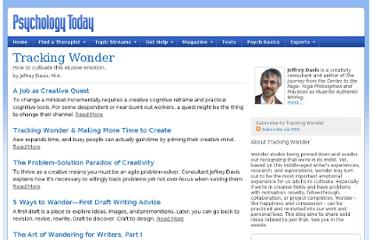 http://www.psychologytoday.com/blog/tracking-wonder