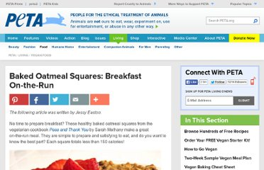 http://www.peta.org/living/vegetarian-living/baked-oatmeal-squares-breakfast-on-the-run.aspx