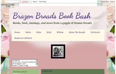 http://brazenbroadsbookbash.blogspot.com/2012/03/brazen-review-one-hundred-and-one.html
