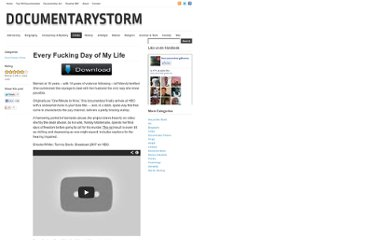 http://documentarystorm.com/every-fucking-day-of-my-life/