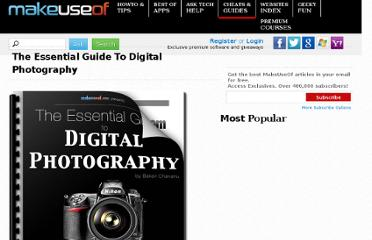 http://www.makeuseof.com/pages/guide-to-digital-photography