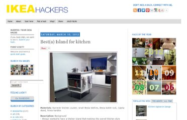 http://www.ikeahackers.net/2012/03/besta-island-for-kitchen.html
