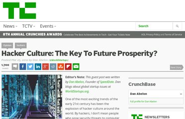 http://techcrunch.com/2012/03/25/hacker-culture-the-key-to-future-prosperity/
