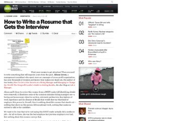 http://www.cbsnews.com/8301-505125_162-44942297/how-to-write-a-resume-that-gets-the-interview/