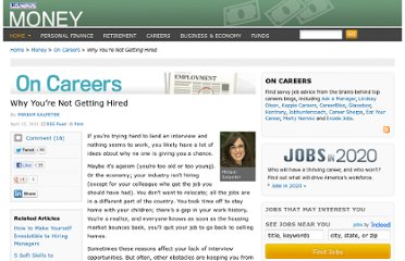 http://money.usnews.com/money/blogs/outside-voices-careers/2011/04/13/why-youre-not-getting-hired