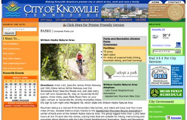 http://www.ci.knoxville.tn.us/parks/hastie.asp