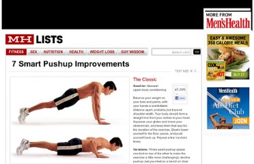 http://menshealth.com/mhlists/pushup-variations/classic-pushup.php#slidetop