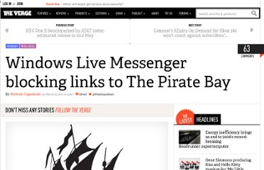 http://www.theverge.com/2012/3/25/2901923/microsoft-messenger-pirate-bay-link-blocking