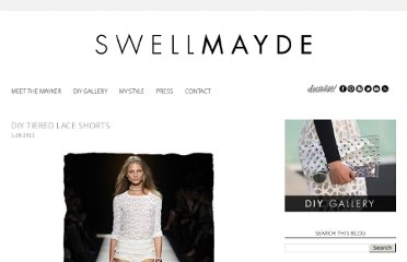 http://www.swellmayde.com/2011/01/diy-tiered-lace-shorts.html