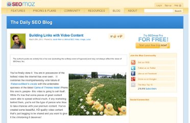 http://www.seomoz.org/blog/building-links-with-video-content
