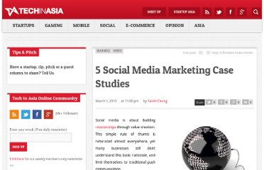 http://www.techinasia.com/social-media-marketing-case-studies/