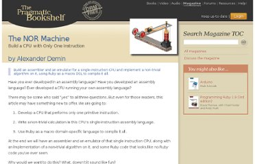http://pragprog.com/magazines/2012-03/the-nor-machine