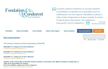 http://www.fondation-condorcet.org/publications/