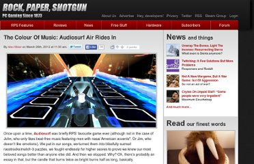 http://www.rockpapershotgun.com/2012/03/26/the-colour-of-music-audiosurf-air-rides-in/