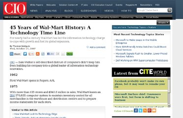 http://www.cio.com/article/147005/45_Years_of_Wal_Mart_History_A_Technology_Time_Line