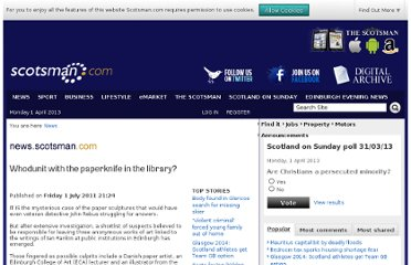 http://www.scotsman.com/news/whodunit-with-the-paperknife-in-the-library-1-1715453