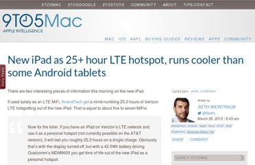http://9to5mac.com/2012/03/26/new-ipad-as-25-hour-lte-hotspot-runs-cooler-than-some-android-tablets/