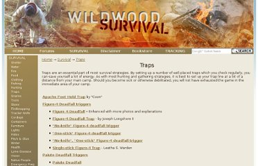 http://www.wildwoodsurvival.com/survival/traps/index.html