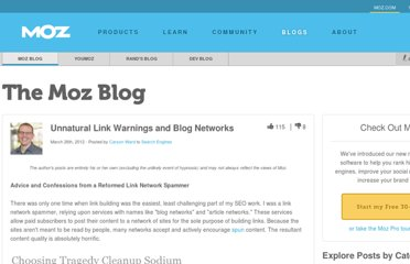 http://www.seomoz.org/blog/unnatural-link-warnings-blog-networks-advice