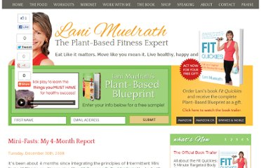 http://www.lanimuelrath.com/blog/mini-fasts-a-4-month-report/