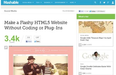 http://mashable.com/2012/03/26/free-html5-website-builder/