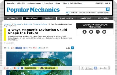 http://www.popularmechanics.com/technology/engineering/extreme-machines/8-ways-magnetic-levitation-could-shape-the-future#slide-1