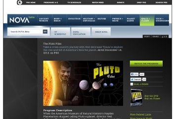 http://www.pbs.org/wgbh/nova/space/pluto-files.html