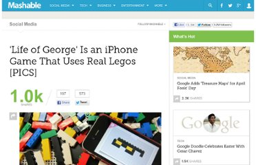 http://mashable.com/2012/03/26/legos-life-of-george/#55745-2