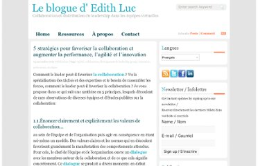 http://blogue.edithluc.com/5-strategies-pour-favoriser-la-collaboration-et-augmenter-la-performance-l%e2%80%99agilite-et-l%e2%80%99innovation/