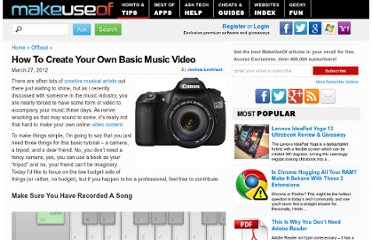 http://www.makeuseof.com/tag/create-basic-music-video/