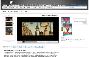 http://www.universalstudiosentertainment.com/the-tale-of-despereaux/