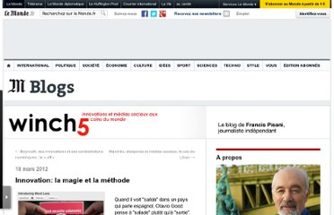 http://winch5.blog.lemonde.fr/2012/03/18/innovation-la-magie-et-la-methode/