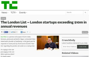 http://techcrunch.com/2011/01/10/the-london-list-london-startups-exceeding-10m-in-annual-revenues/