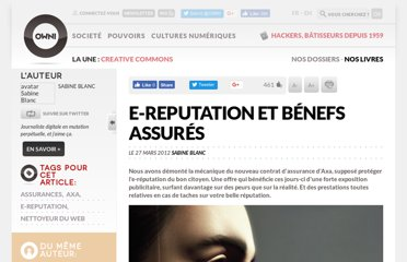http://owni.fr/2012/03/27/axa-le-reputation-assure-son-industrialisation/